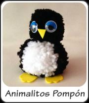 Animalitos con pompones