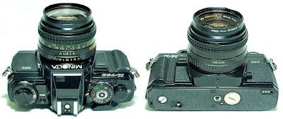 Minolta X-700 (Black) Body #938, Minolta MD Rokkor-X 50mm 1:1.4 #499