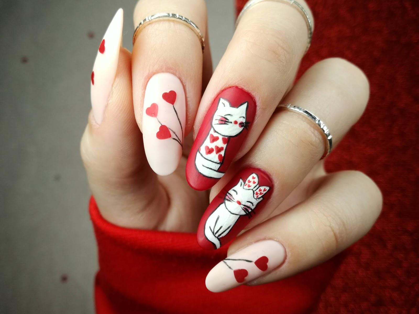 paznokcie kotek