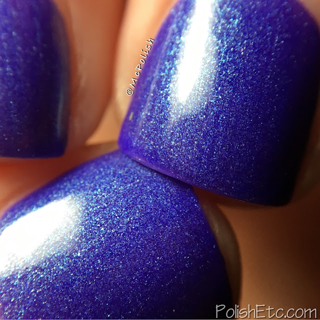 Native War Paints - Purple Reign Collection - McPolish - Her Lips Turned Blurple