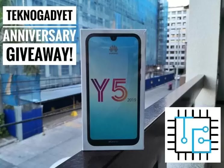 TeknoGadyet Giveaway: Huawei Y5 2019