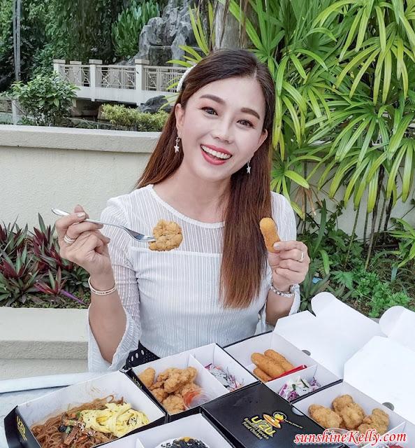 UZU Chicken, UZU Korean Boneless Fried Chicken, Korean Fried Chicken, Food Review, Korean Food, Food