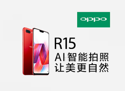 Oppo R15 teaser Shows iPhone X-Like Notch
