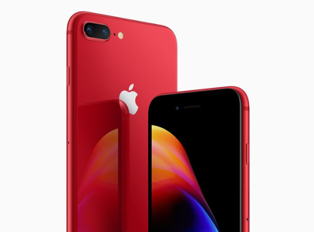 Apple-iPhone-8-rojo