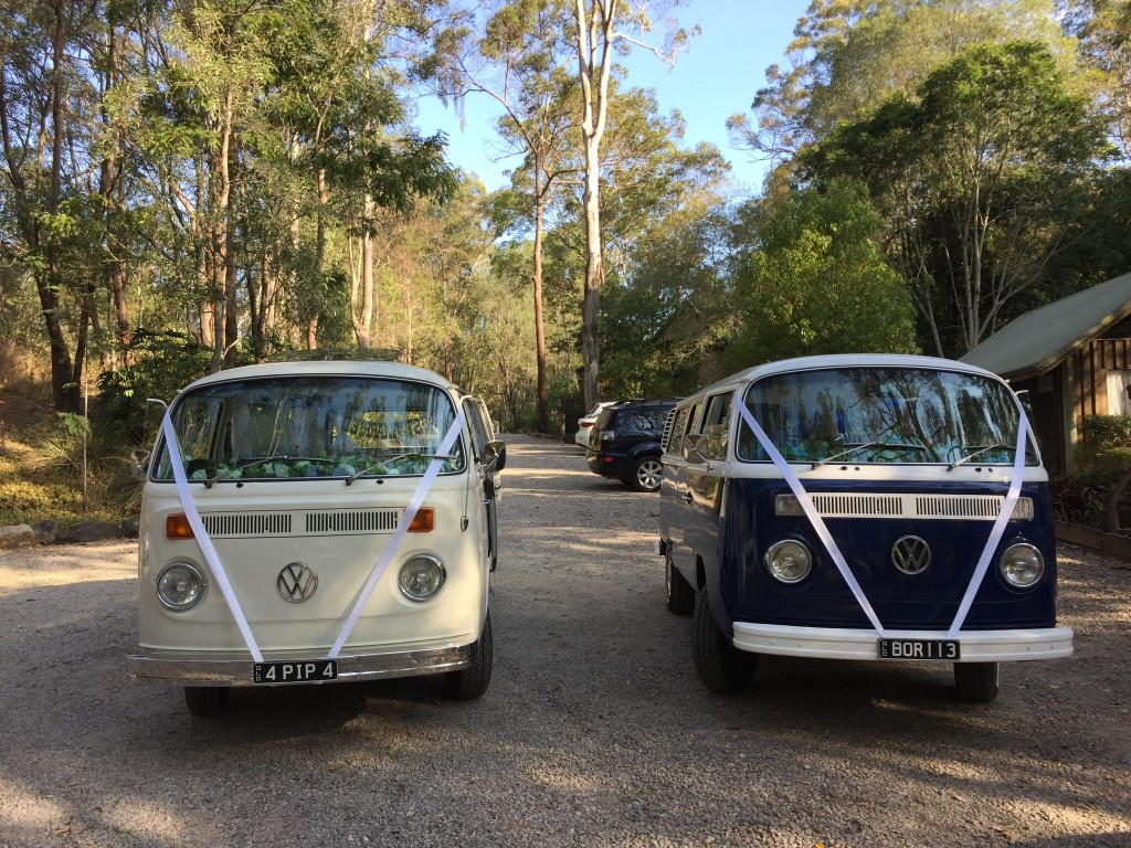 WEDDING TRANSPORT VW HIRE BRISBANE