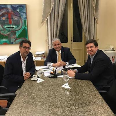 ROMARIA: Prefeito de São Joaquim se reúne  com representante do Governo de Pernambuco para tratar da Romaria do Frei Damião.