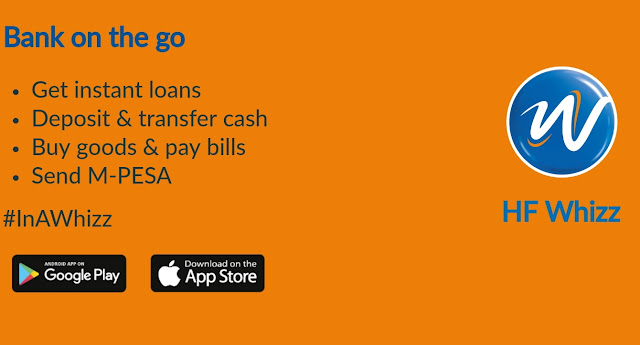 HF Whizz Loan App Kenya for iOS