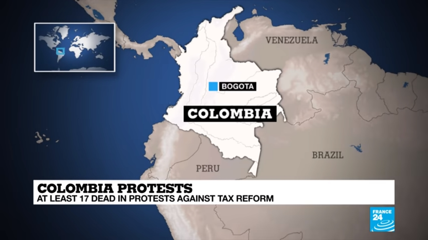 In Colombia, 19 Are Killed in Pandemic-Related Protests