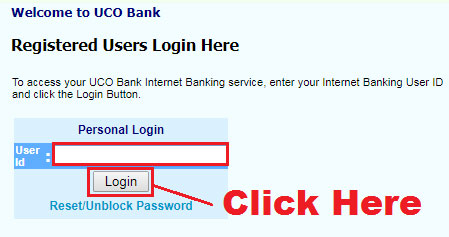 how to apply for cheque book in uco bank online