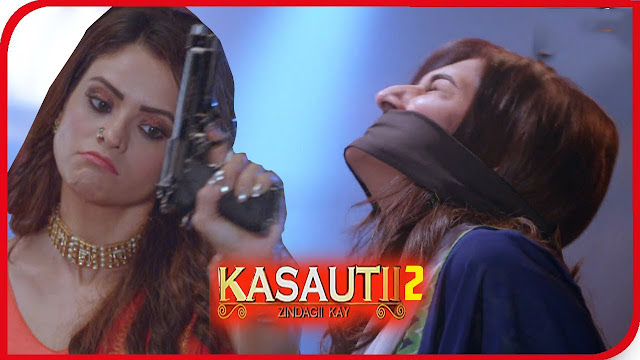 FACE OFF :  Komolika and Prerna's drastic face off to kill Prerna alive in Kasauti Zindagi Ki 2