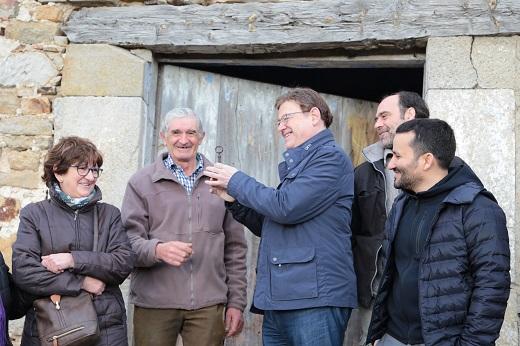 La adquisición del Penyagolosa contribuye a preservar el patrimonio global de la Comunitat, según Puig