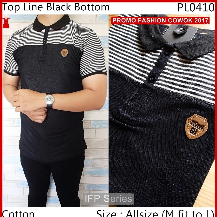 BIMFGP040 Line Kaos Polo Fashion Pria PROMO