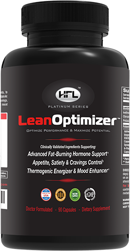 """WHAT Is Lean Optimizer™ Lean Optimizer's organic formula delivers specific and proven nutrients that helps optimize and enhance your """"fat burning"""" hormones, like when you were younger – by helping to optimize your Thyroid and Leptin levels, while minimizing excessive Cortisol, Insulin and Estrogen levels.*ˆˆ"""