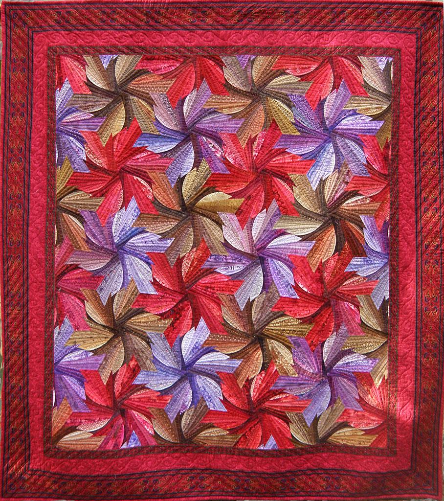 Quilt Inspiration Quilt Artist Val Moore From Sydney