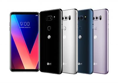 LG V30  de lo mejor en el 2017 en móviles
