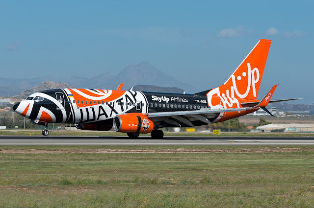 SkyUp anuncia una nueva ruta entre Alicante y Lviv