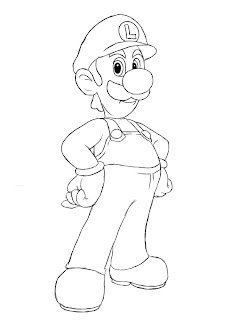 Eagle Cars Reading >> How To Draw Luigi - Draw Central