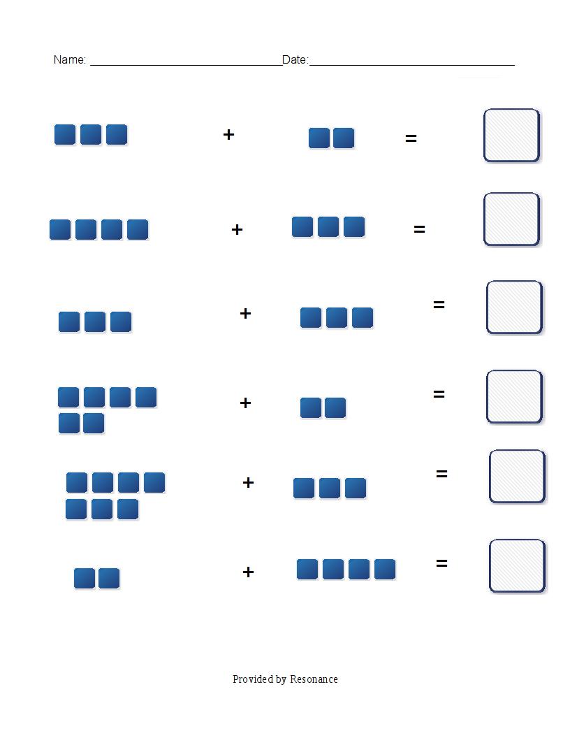Math-Journal:Understanding Math: Kindergarten Math worksheets