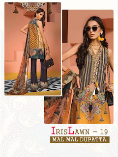 Cyra fashion iris lawn 19 pakistani Suits wholesale