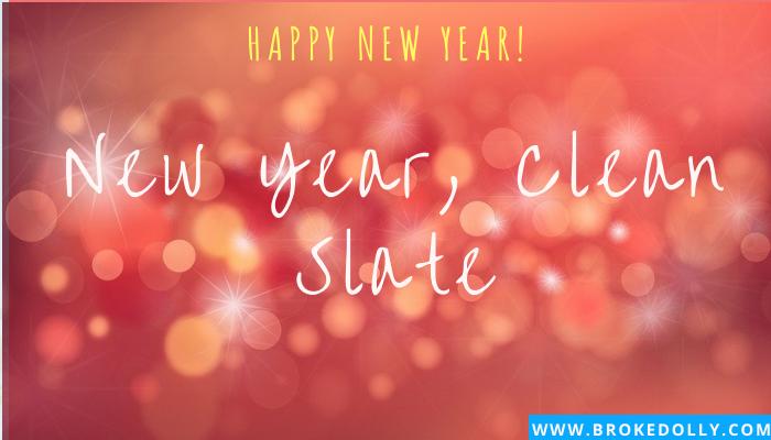 New Year, Clean Slate
