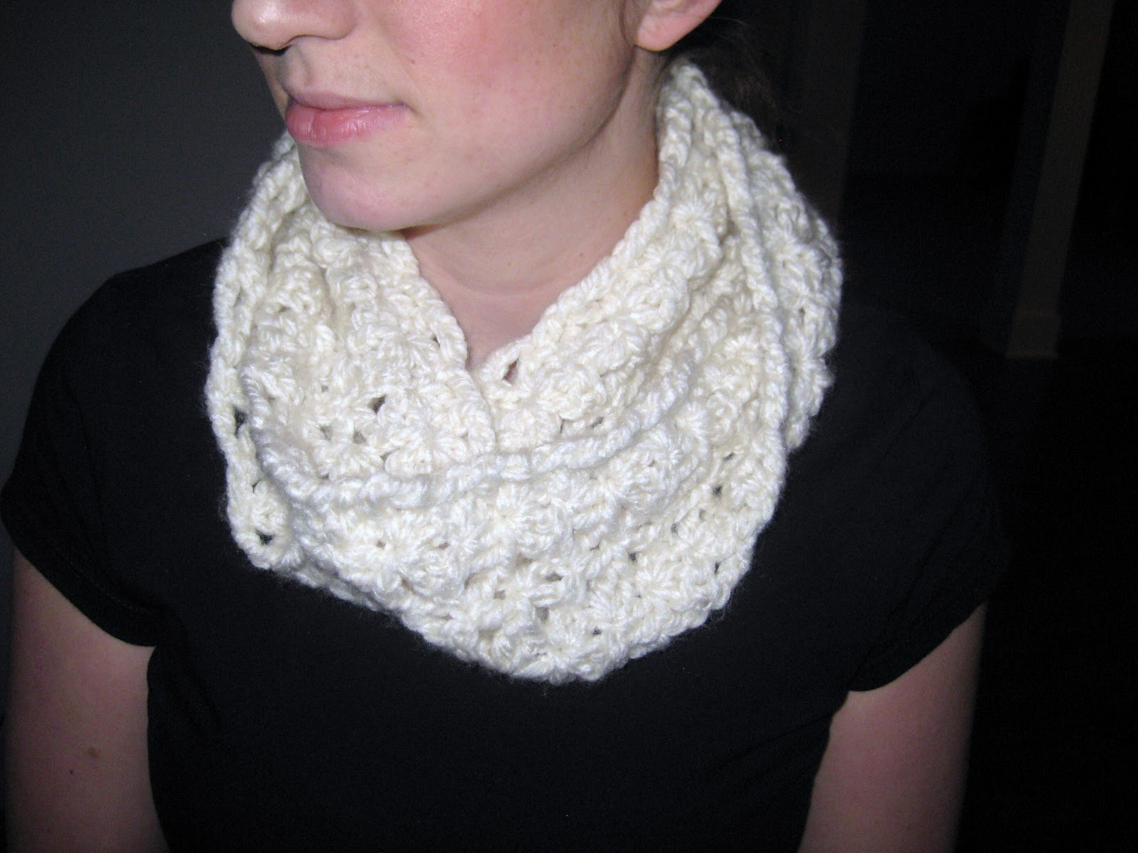 Crochet Chunky Infinity Scarf Patterns