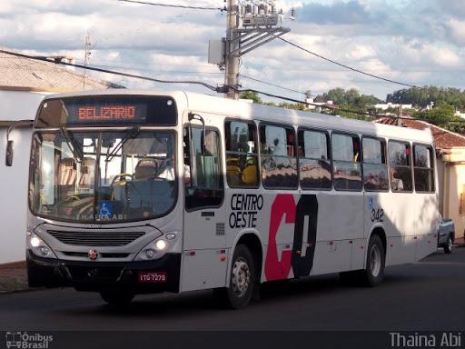 Horários dos ônibus da Centro Oeste