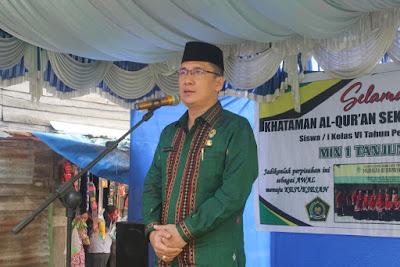 Kakankemenag Hadiri Perpisahan Siswa-siswi Kelas VI MIN 1 Tanjungbalai