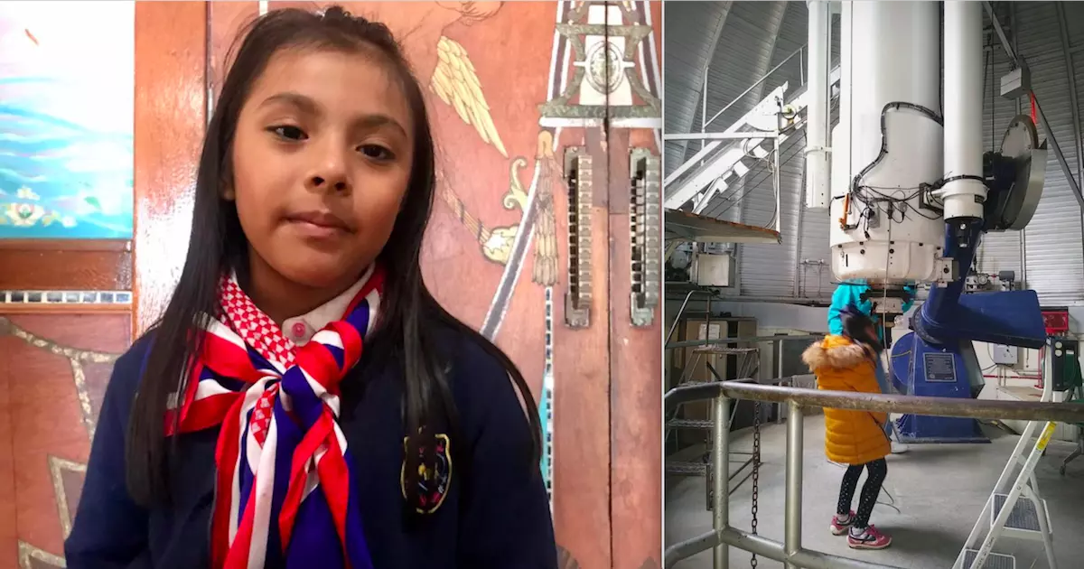 9-Year-Old Girl From Mexico With IQ Higher Than Einstein Has Joined NASA's Space Science