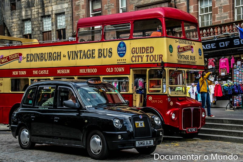 Transportes públicos em Edimburgo; Royal Mile
