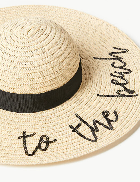 marks and Spencer beach sun hat