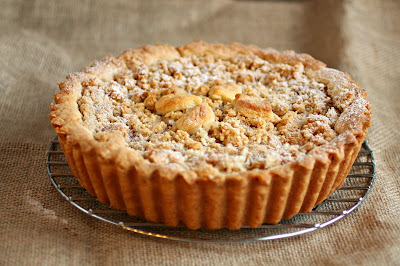 Deep Dish Dutch Apple Pie with Peanut Butter Streusel