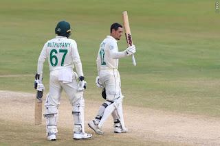 Quinton de Kock 111 vs India Highlights