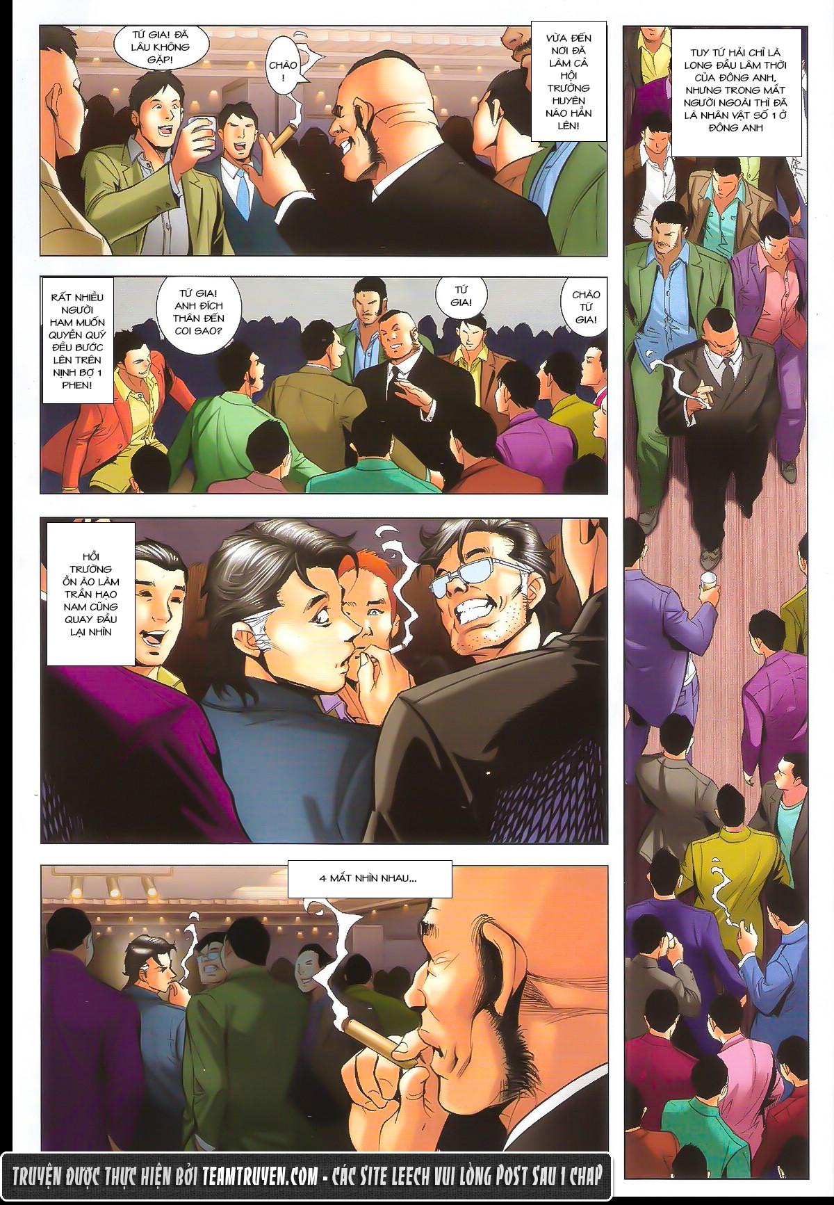 Người Trong Giang Hồ chapter 1632: ác chiến la tâm tả trang 8
