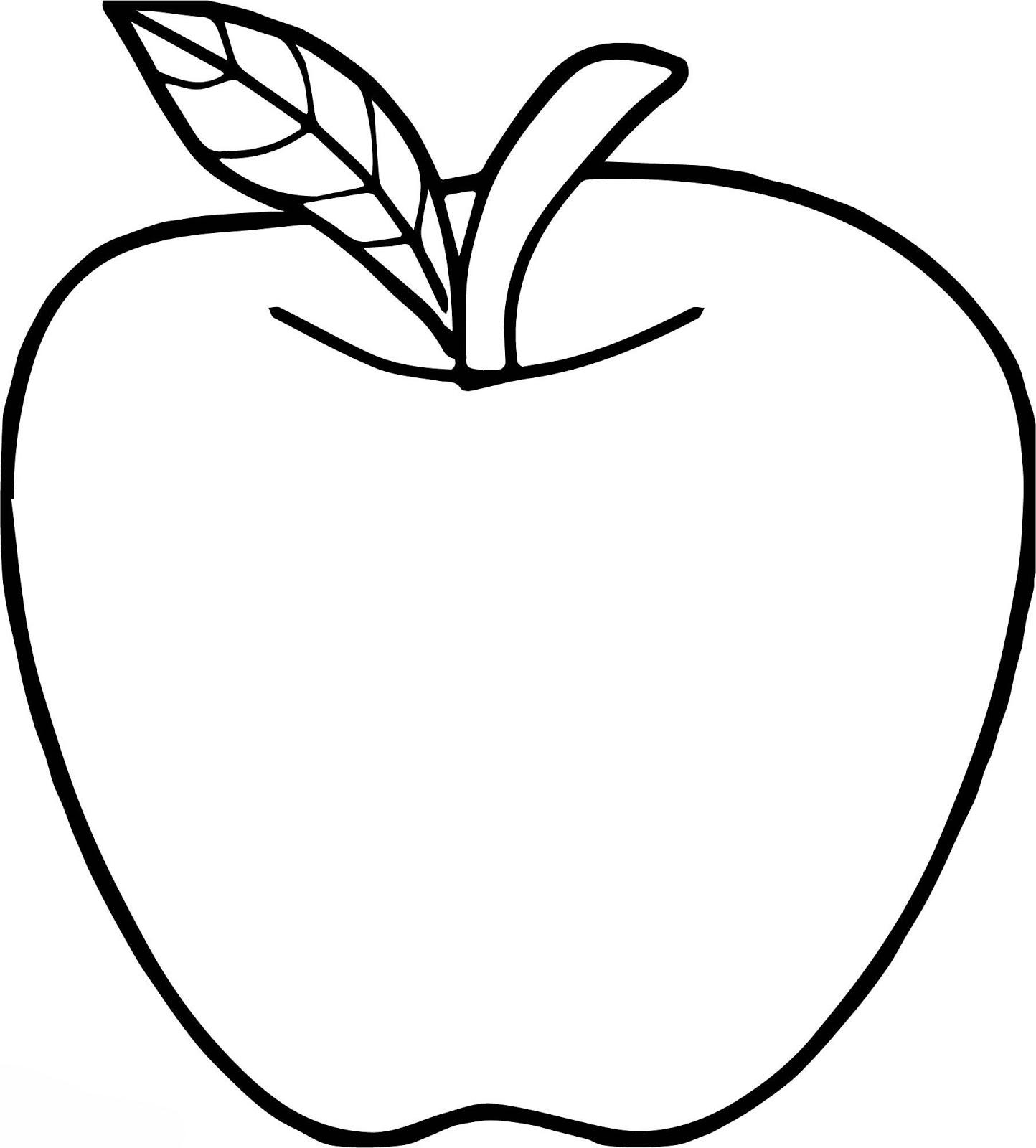 Mewarnai Apel