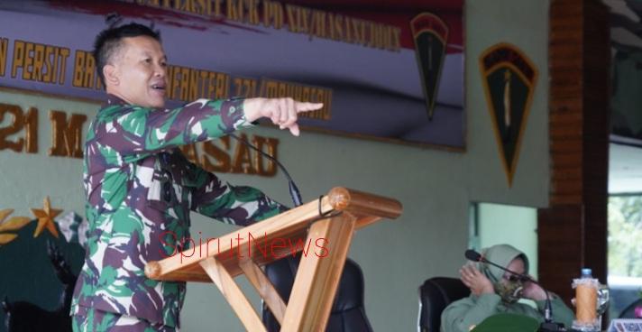 Pangdam Hasanuddin: Jadilah Prajurit Jago Perang, Tembak dan Bela Diri