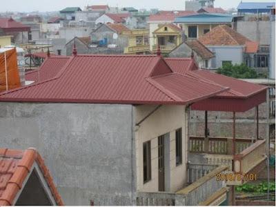 giá thay tôn mái nhà