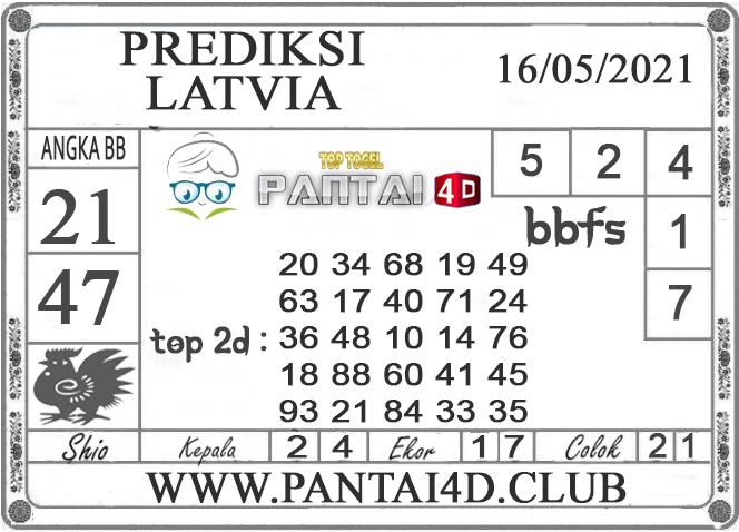 PREDIKSI TOGEL LATVIA PANTAI4D 16 MEI 2021