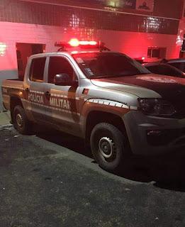 Condutor embriagado e sem habilitação se envolve em acidente e é preso por policiais do 4º BPM em Pilões