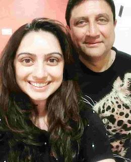 Shruti Marathe Father