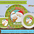 Holiday Melamine Plates - Christmas arrived with a coupon code! ~ 3 Little Flowers - The Blog