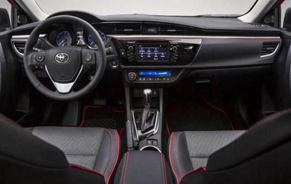 2019 toyota camry model interior