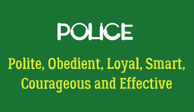 What is the Full Form of Police?