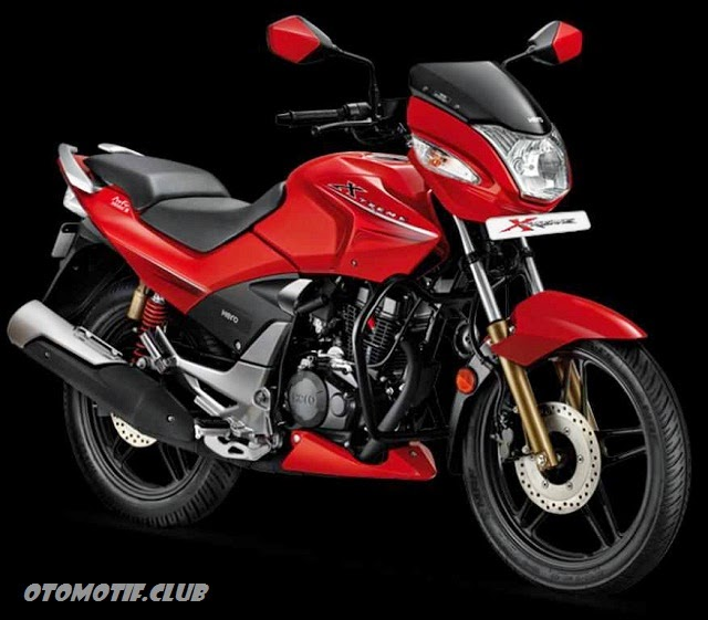 Photo Hero Honda CBZ Xtreme red