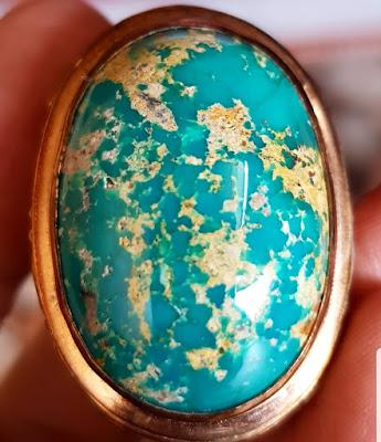 Batu Pirus Naisambur asli import dari Iran