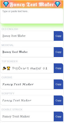 Fancy Text Maker