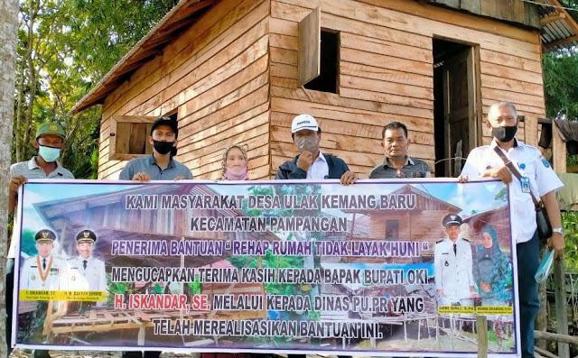 Pemkab OKI Pugar 1.271 Rumah Tak Layak Huni