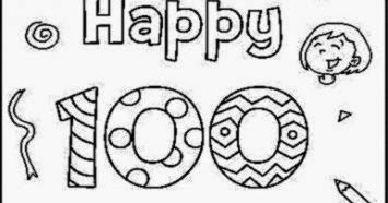 100 day coloring pages printable | 100Th Day Of School Coloring Sheets | Free Coloring Sheet