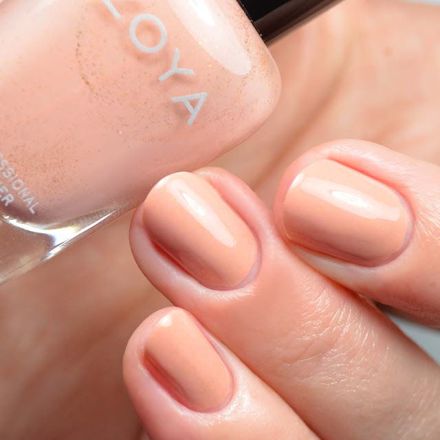 peachy nail polish