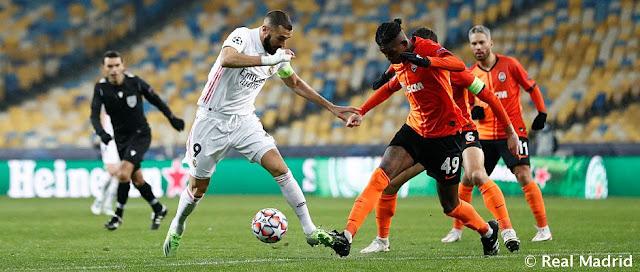Shaktar Donetsk 2-0 Real Madrid