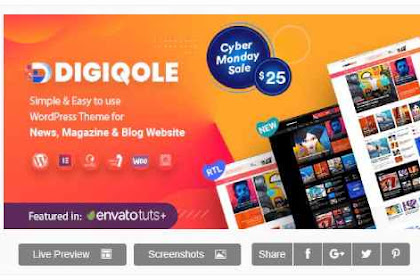 Download Digiqole v1.1.2 - News Magazine WordPress Theme